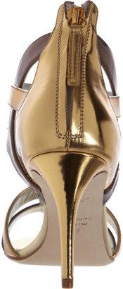 Giuseppe Zanotti Metallic Gladiator Sandal