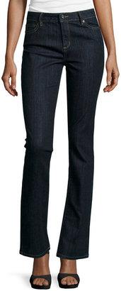 LIZ CLAIBORNE Liz Claiborne Classic-Fit Straight-Leg Jeans $48 thestylecure.com