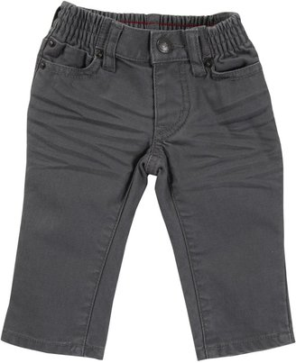 Tea Collection Daytripper Twill Pant - Thunder-6-12 Months