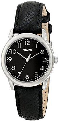 Timex Women's T2P0809J Analog Display Analog Quartz Black Watch $29.99 thestylecure.com