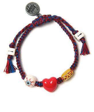 Venessa Arizaga I Love Hot Dogs Bracelet