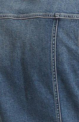 Vince Camuto Two by Vintage Wash Denim Vest (Petite)