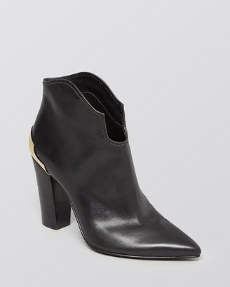 Sigerson Morrison Pointed Toe Booties - Vesta High Heel
