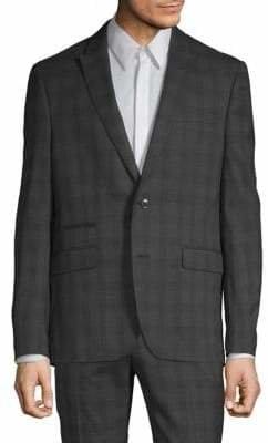 Kenneth Cole Reaction Slim-Fit Plaid Suit Jacket