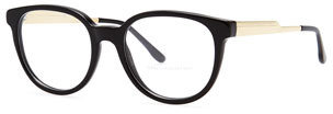 Stella McCartney Round Optical Frames, Black