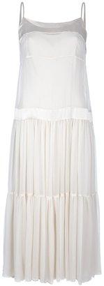 Antonio Marras Vintage tiered slip dress