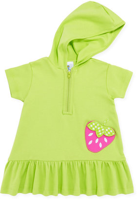 Florence Eiseman Strawberry Festival Jersey Coverup, Lime, 12-24 Months