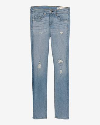 Rag and Bone Exclusive Ripped Skinny