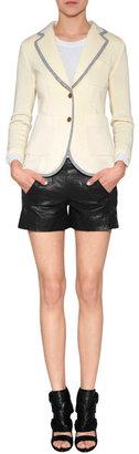 Rag and Bone Rag & Bone Ivory/Multi Wool Bromley Blazer