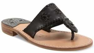 Jack Rogers Classic Palm Beach Flat Sandals