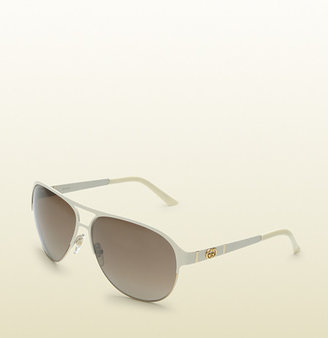 Gucci Modern Aviator Sunglasses