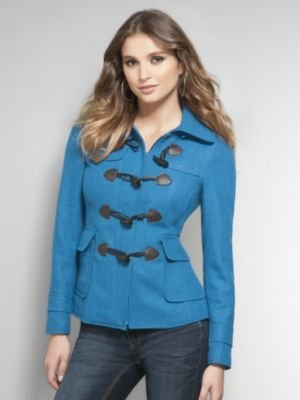 New York & Co. Hooded Toggle Jacket