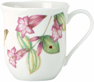 Lenox Dinnerware, Set of 4 Assorted Butterfly Meadow Bloom Mugs