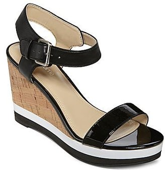 Liz Claiborne Olympic Wedge Sandals