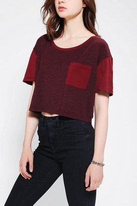 Truly Madly Deeply Colorblock Cropped Top