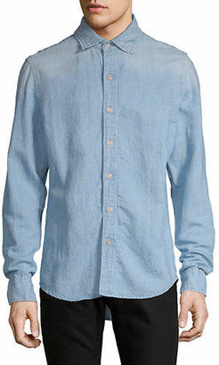 G Star Slim Fit Bristum Chambray Sport Shirt