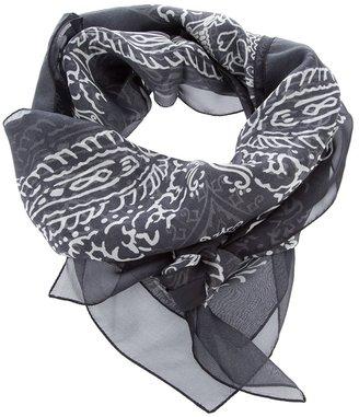 Hollywood Trading Company Htc Printed silk scarf