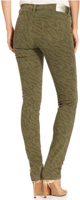Calvin Klein Jeans Calvin Klein Jeans, Ultimate Skinny Printed, Army Olive Wash