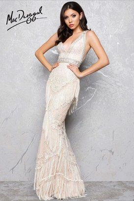 Mac Duggal -Sleeveless V-Neck Couture Gown 50404D $798 thestylecure.com