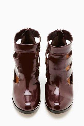 Nasty Gal Shoe Cult Triton Bootie - Burgundy