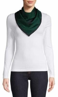 Lauren Ralph Lauren Striped Silk Square Scarf