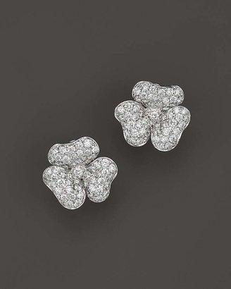 Bloomingdale's Diamond Flower Stud Earrings in 14K White Gold, 2.20 ct. t.w. - 100% Exclusive