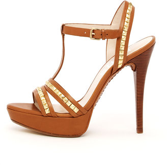 KORS Kaleigh Studded Platform Sandal
