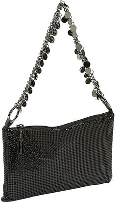 Whiting & Davis Whiting and Davis Metal Disc Chain Soft Shoulder Bag