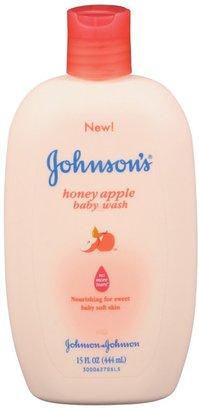Johnson & Johnson Johnson's Baby Wash - Honey Apple - 15 oz