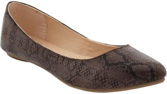 Old Navy Women's Animal-Print Textured Flats