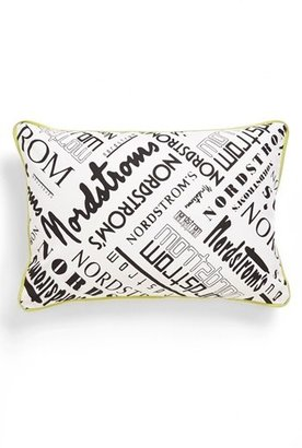 Nordstrom at Home Heritage Collection 'Historical Logo' Print Pillow