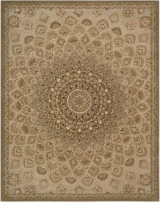 """Nourison Area Rug, Wool & Silk 2000 2262 Multicolor 5'6"""" x 8'6"""""""
