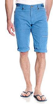 Calvin Klein Jeans Men's Egyptian Glazed Blue Canvas Short
