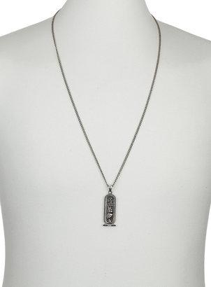 Topman Hiroglyhics Pendant Necklace