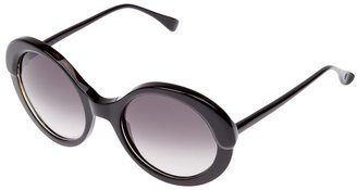 Marni oversized oval sunglasses
