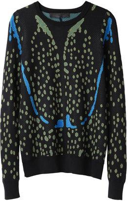 Proenza Schouler Printed Crewneck Pullover