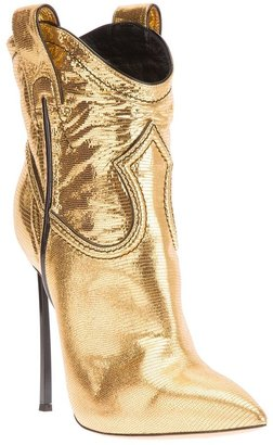 Casadei stiletto heel cowboy boot