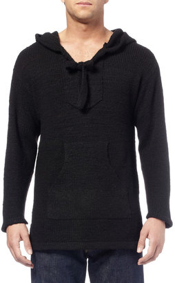 The Elder Statesman Baja Hooded Cashmere Sweater