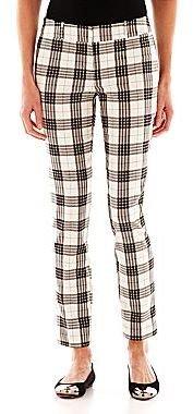 JCPenney Worthington® Slim Plaid Pants - Tall