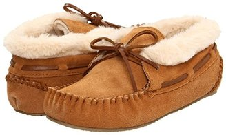 Minnetonka Chrissy Bootie (Cinnamon Suede) Women's Slippers