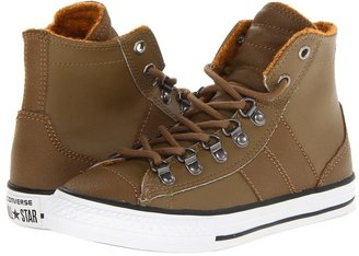 Converse Chuck Taylor All Star Sneakerboot Hi (Little Kid/Big Kid) (Kangaroo) - Footwear