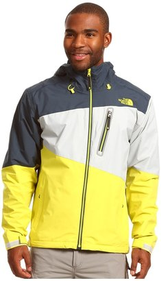 The North Face Shifter Jacket (Sulphur Spring Green/Kodiak Blue/High Rise Grey) - Apparel