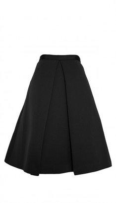 Tibi Katia Faille Full Skirt
