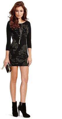 GUESS by Marciano Jacklyn Jacquard Dress
