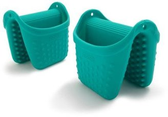 Dexas Coral Silcone Pinch Mitts, Set of 2