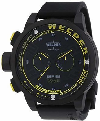 Welder Unisex 2603 K31 Oversize Chronograph Watch