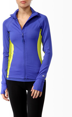 Forever 21 Fitted Athletic Jacket