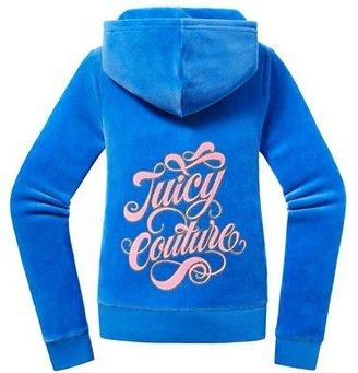 Juicy Couture Original Jacket in Fancy Script Velour