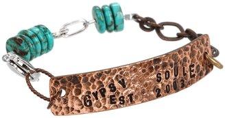 Gypsy SOULE Est Nameplate Bracelet (Copper) - Jewelry
