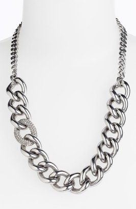 Juicy Couture 'Luxe Rocks' Pavé Link Necklace